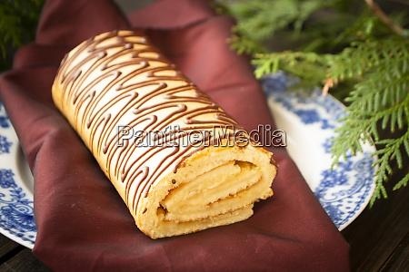 buche de noel is traditional french
