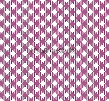 purple and white checkered tablecloth background