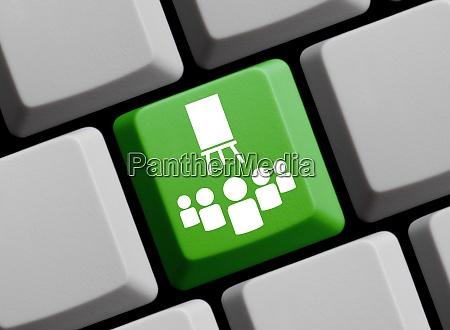 online course or virtual classroom