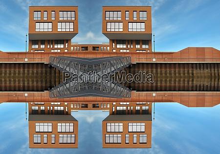 architecture modern mirrored