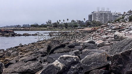 rocky coastal landscape montevideo uruguay