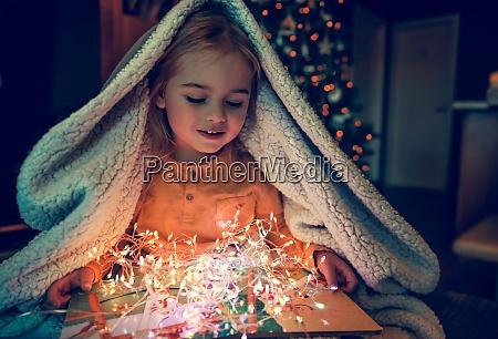 baby celebrate christmas