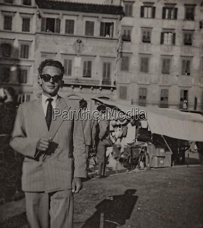 businessman in milan in 50s