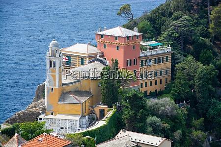 chiesa di san giorgio portofino liguria