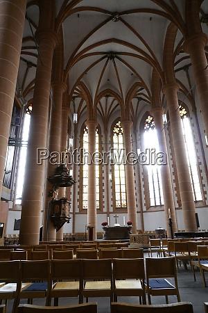 evangelische heiliggeistkirche aus dem 15 jahrhundert