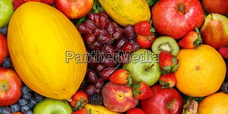 food background fruits collection apples berries