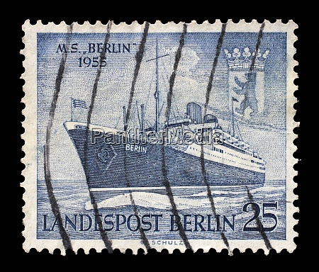 stamp issued in germany berlin