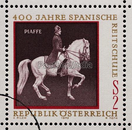 stamp issued in the austrian shows