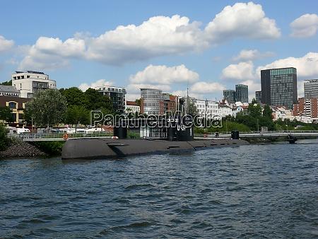 submarine, in, hamburg - 29216045