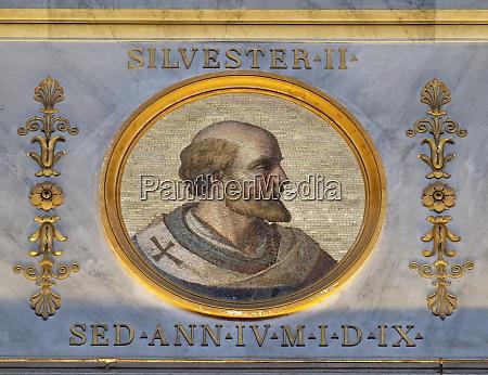 pope sylvester ii or silvester ii