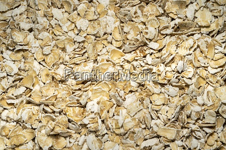 rolled oat flakes background