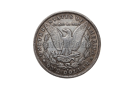 usa one dollar morgan silver coin