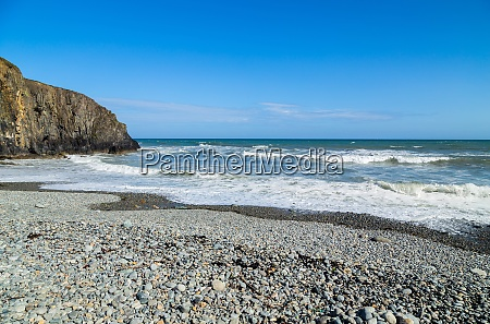 rocky rugged beach