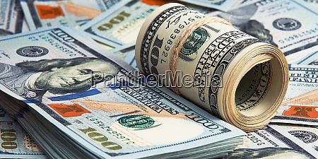 cash hundred dollar bills banknotes are