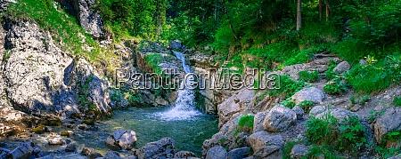 kuhflucht waterfalls near garmisch spartenkirchen bavaria