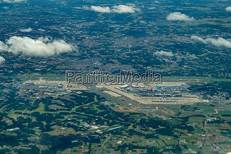 narita international airport taken from an