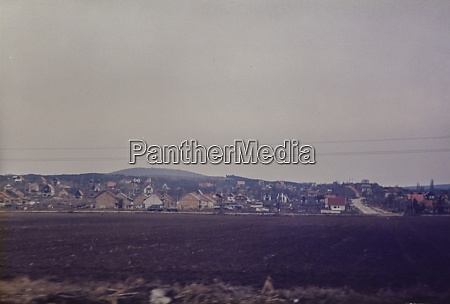 hungary 1982 village nestled in the