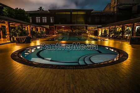 of luxury hotel pool image sri