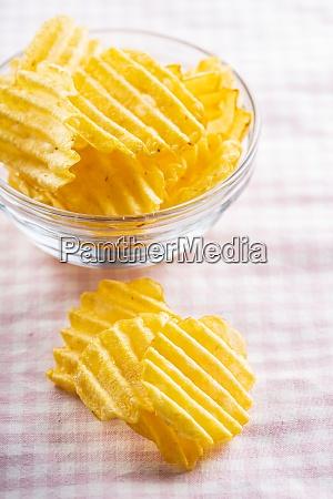 crispy potato chips