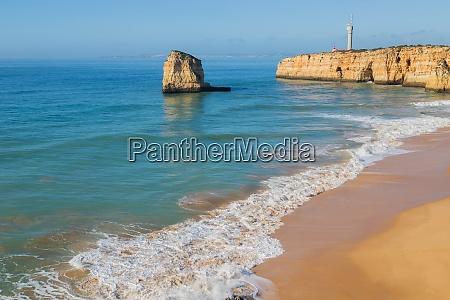 beach of praia dos caneiros