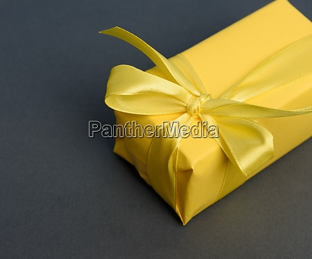 rectangular box with a gift wrapped