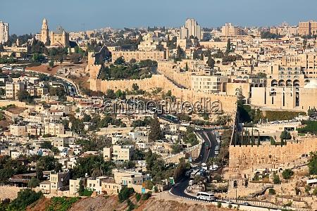 city of jerusalem israel