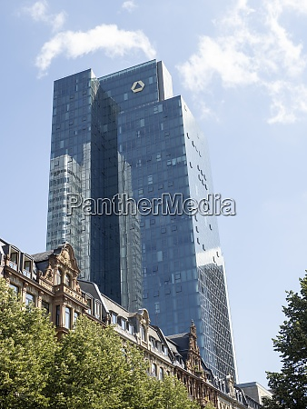 dresdner bank tower and wilhelminian style