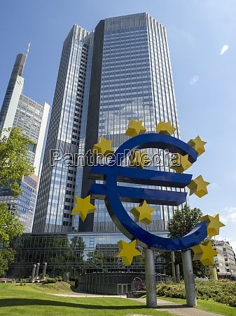 skytower of european central bank ecb