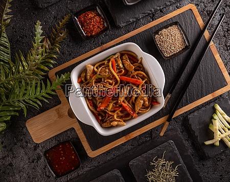 chow mein menu