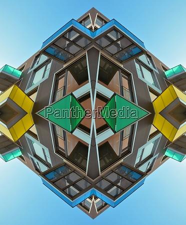 architecture abstrakt futuristic