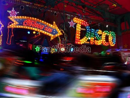 corousel on the fair