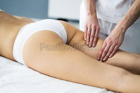 thigh cellulite soothing shiatsu aroma massage