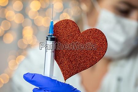 doctor nurse scientist researcher hand in
