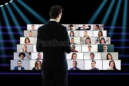 corporate entrepreneur speech at virtual business