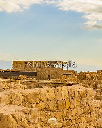 masada national park judea israel