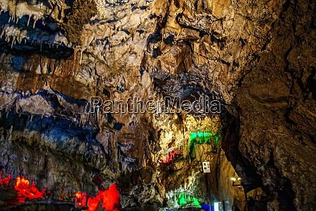 hida large limestone cave of image