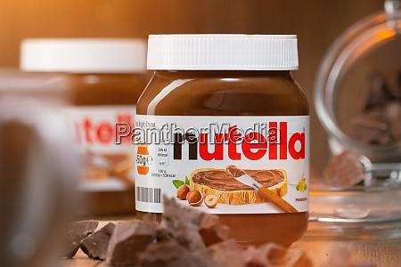 pot of nutella the popular brand