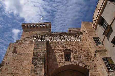 city gate of mahon on menroca