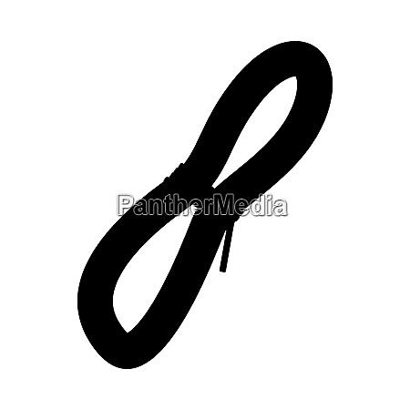 climbing rope icon