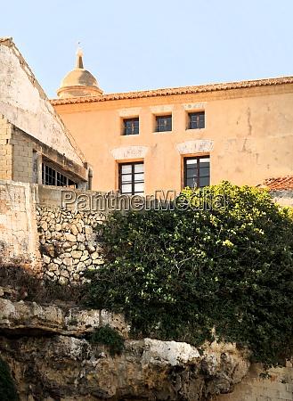 architecture in mahon on menorca