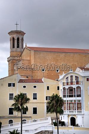 view of mahon on menorca