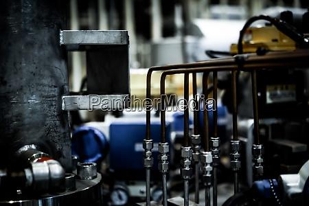 image of vacuum equipment and laboratory
