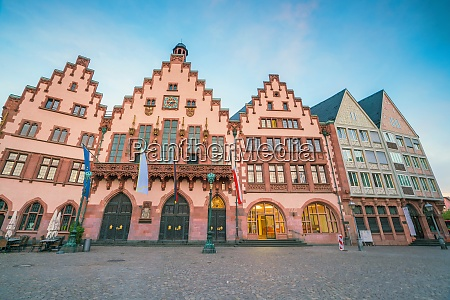 old town square romerberg in downtown