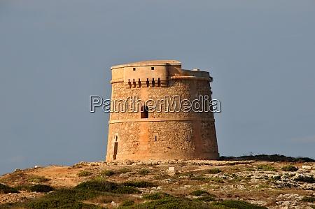 torre dalcalfar on menorca