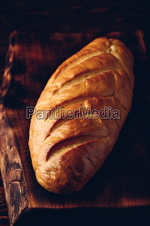 a loaf of bread on a