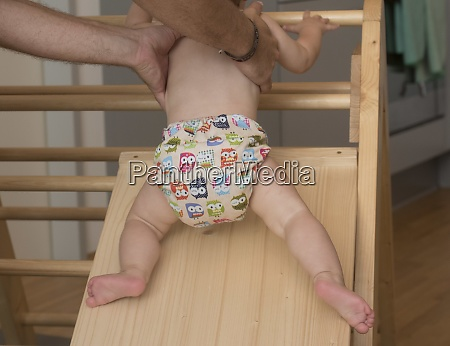 infant, or, baby, in, diaper - 29250535