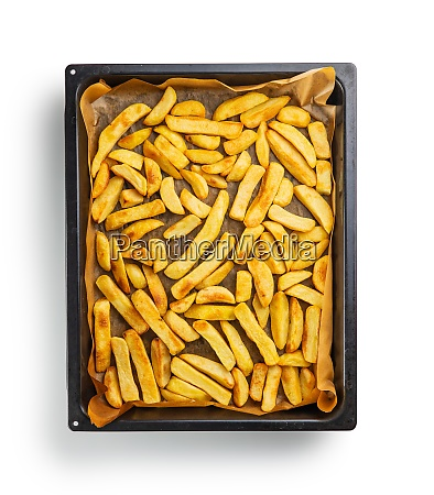 big french fries fried potato chips