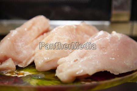 raw chicken breasts