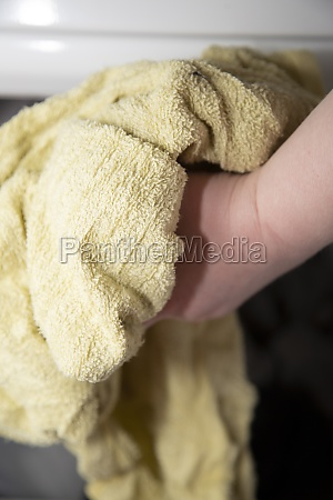 drying towels