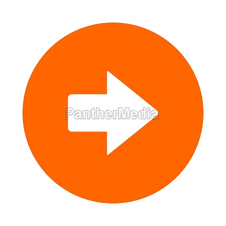 right arrow and circle